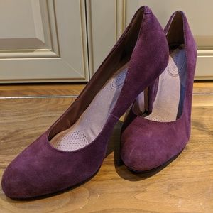 Corso Como Del Dress Pump Size 8 Burgundy Suede